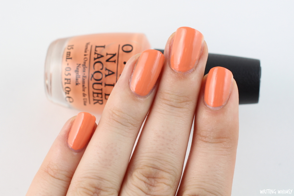 OPI Hawaii Is Mai Tai Crooked 2