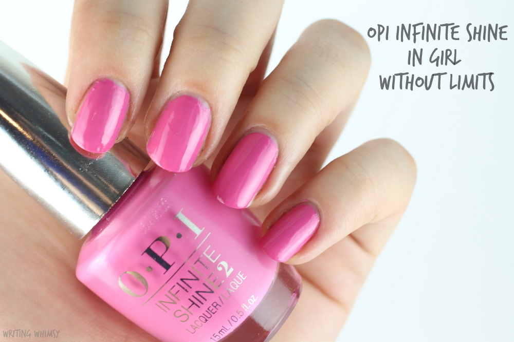 OPI Infinite Shine Girl Without Limits 2
