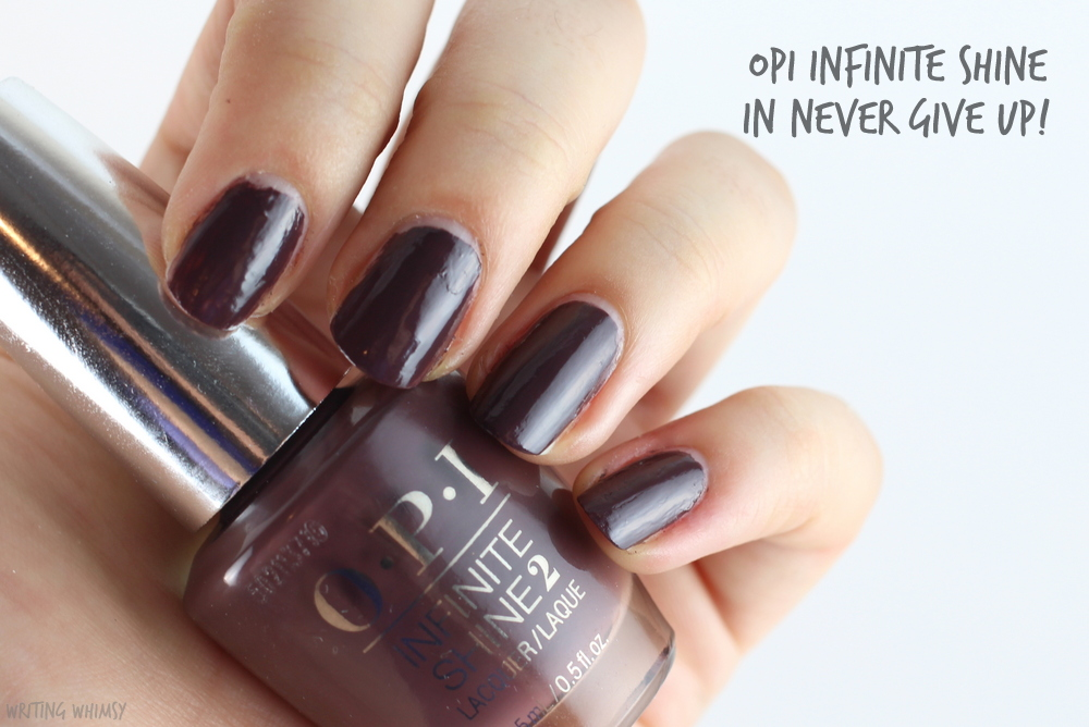 OPI Infinite Shine Never Give Up! 2
