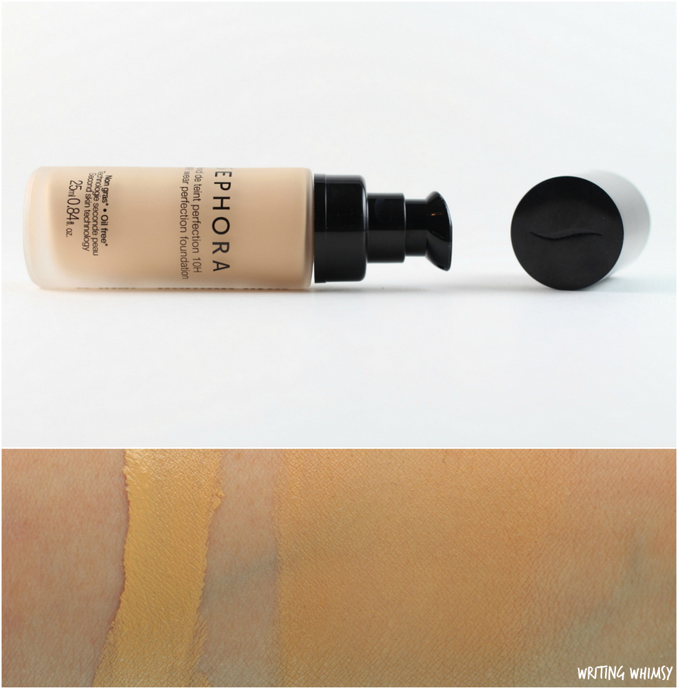Sephora Collection 10 HR Wear Perfection Foundation in Light Linen 2