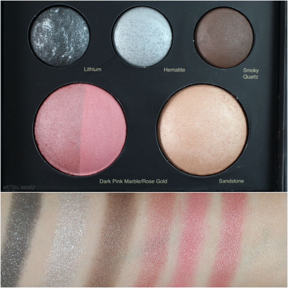 Sephora Collection Mixed Metals Baked Eye and Face Palette 2