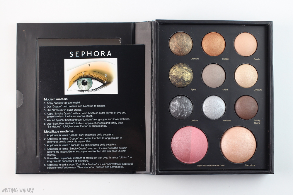 Sephora Collection Mixed Metals Baked Eye and Face Palette 4