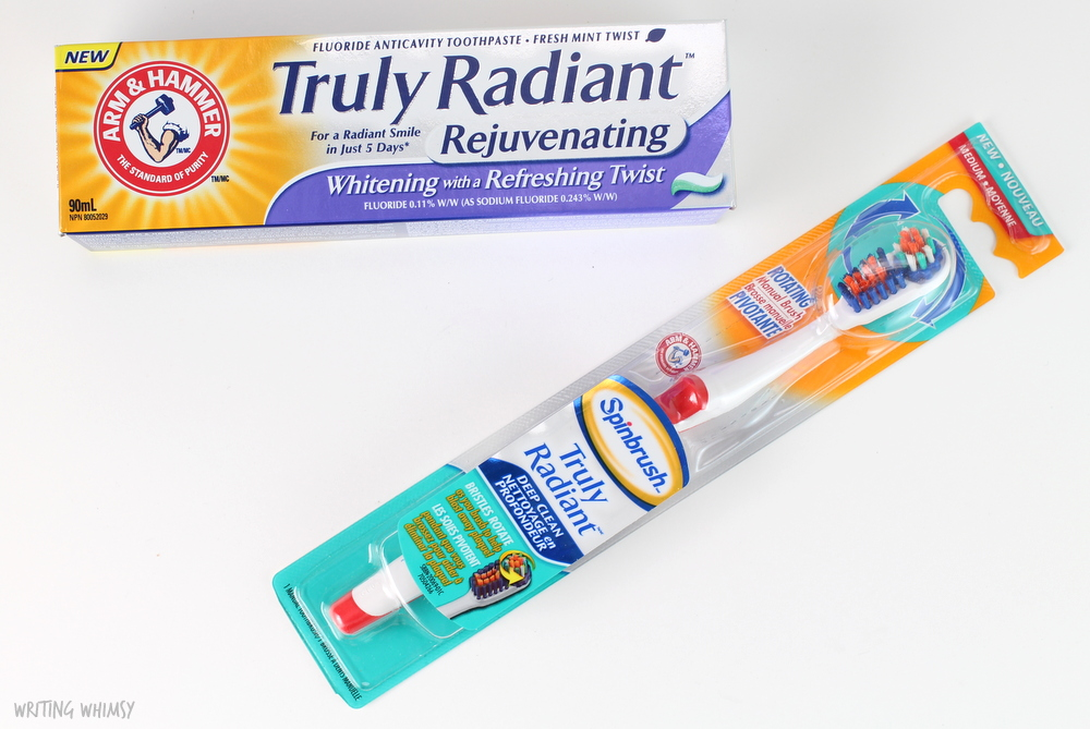 Arm & Hammer Truly Radiant Rejuvenating Toothpaste & Manual Toothbrush 4