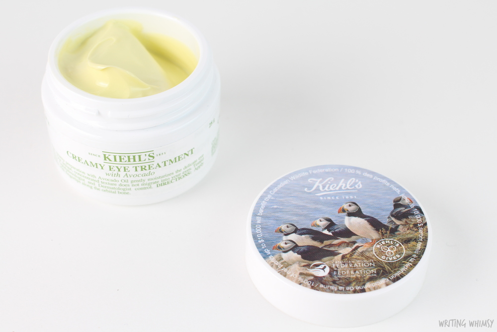 Kiehl's Creamy Eye Treatment with Avocado Supports Puffins