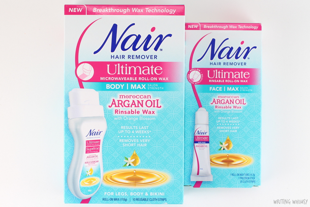 Nair Moroccan Argan Oil Ultimate Roll On Body Wax & Face Wax 2
