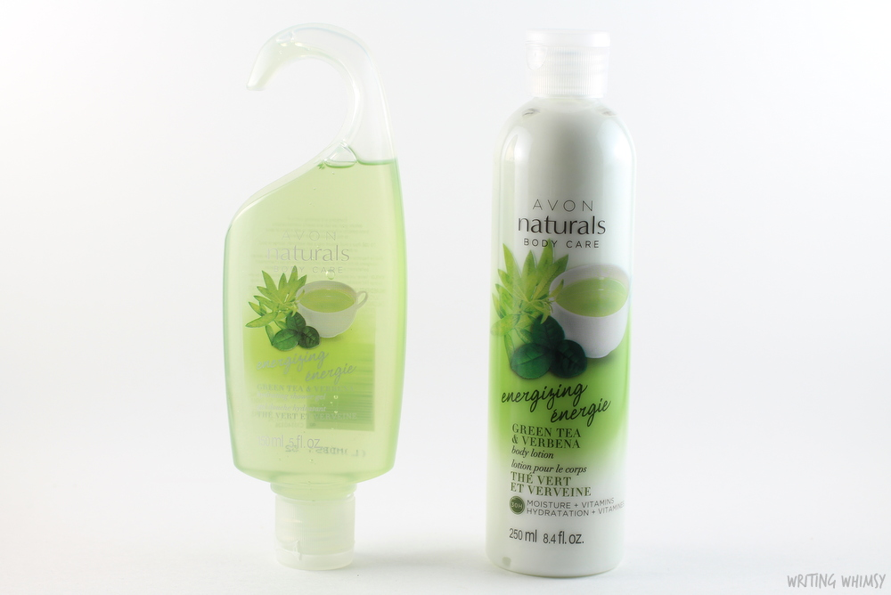 Avon Naturals Green Tea and Verbena Shower Gel and Body Lotion