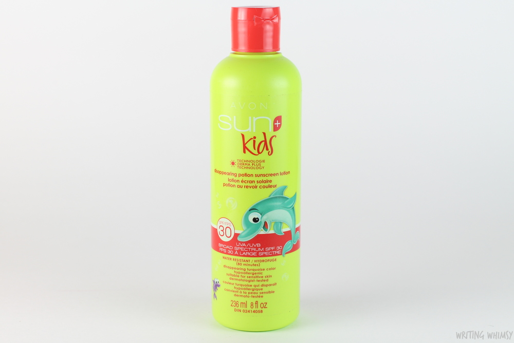 Avon Sun+ Kids Disappearing Potion Sunscreen Lotion SPF 30