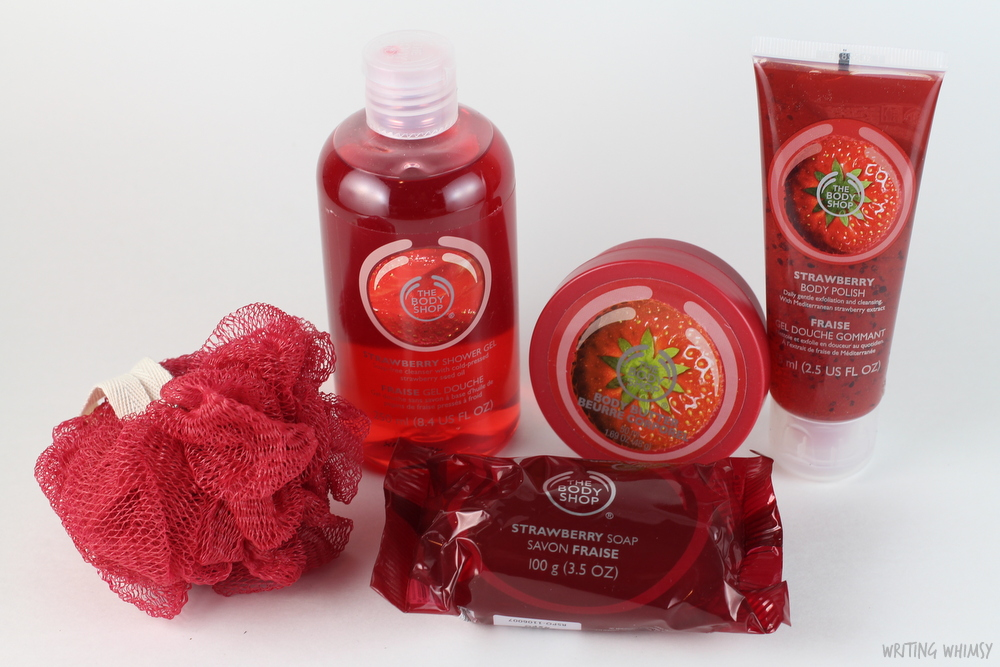 The Body Shop Strawberry Soap, Shower Gel, Body Polish & Body Butter 2