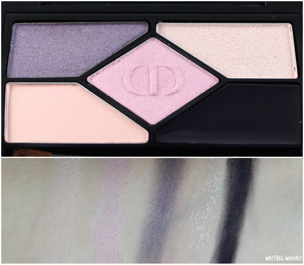 Dior Diorshow 5 Couleurs Designer Eyeshadow Palette 808 Purple Design 2
