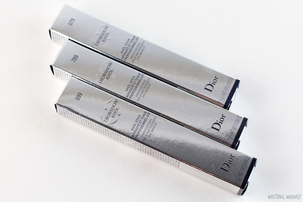 Dior Diorshow Kohl Stick Smoky Black, Smoky Brown & Smoky Grey 2