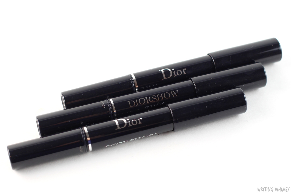 Dior Diorshow Kohl Stick Smoky Black, Smoky Brown & Smoky Grey