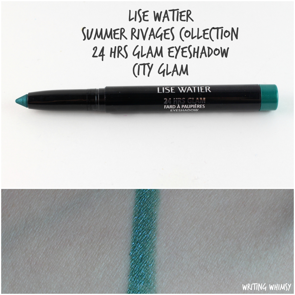 Lise Watier Summer Rivages Collection 24 Hrs Glam Eyeshadow City Glam
