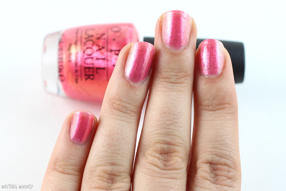 OPI Can't Hear Myself Pink 2