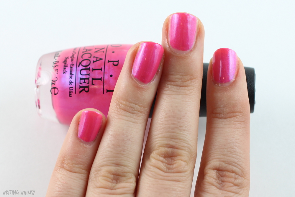 OPI Hotter than Pink 2