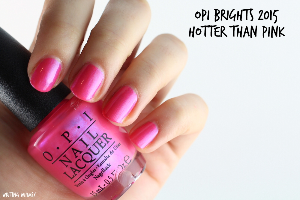 OPI Hotter than Pink