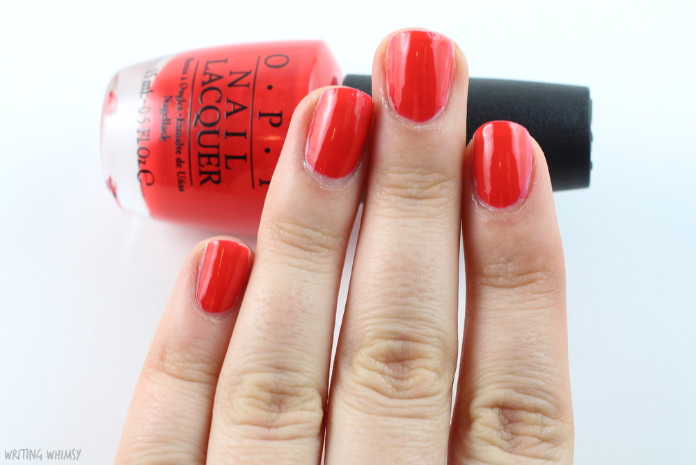 OPI I Stop for Red 2