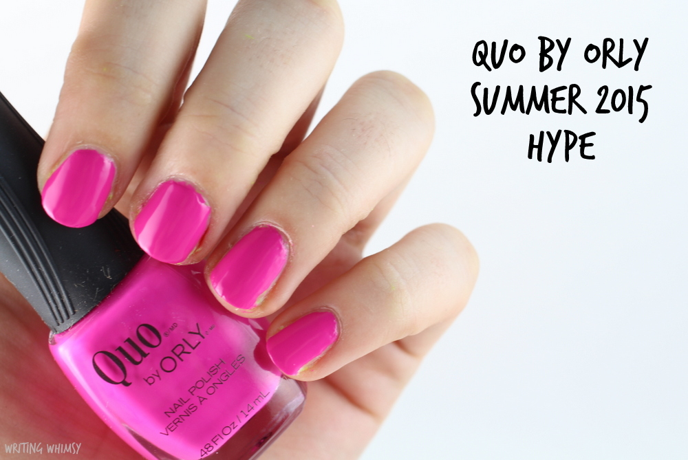 Quo by Orly Summer 2015 Hype