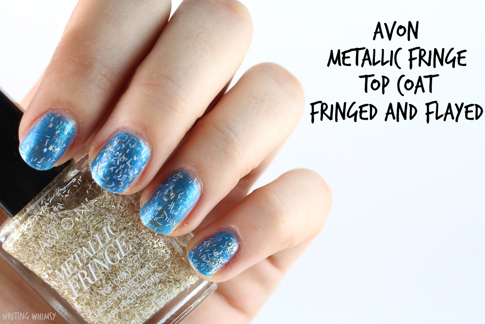 Avon Metallic Fringe Fringed and Flayed