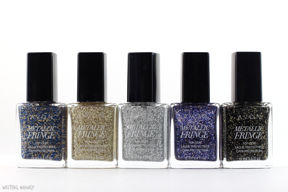 Avon Metallic Fringe Top Coats