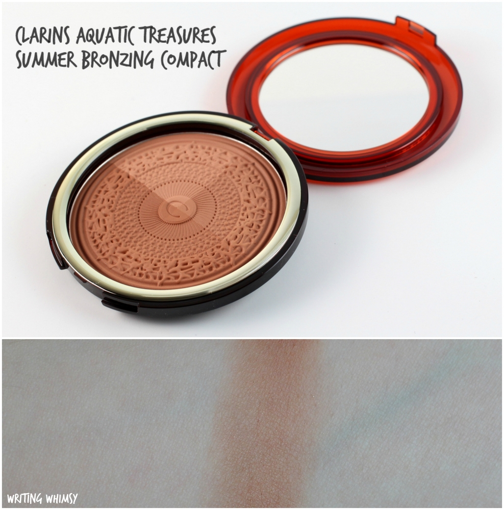 Clarins Aquatic Treasures Summer Bronzing Compact 3