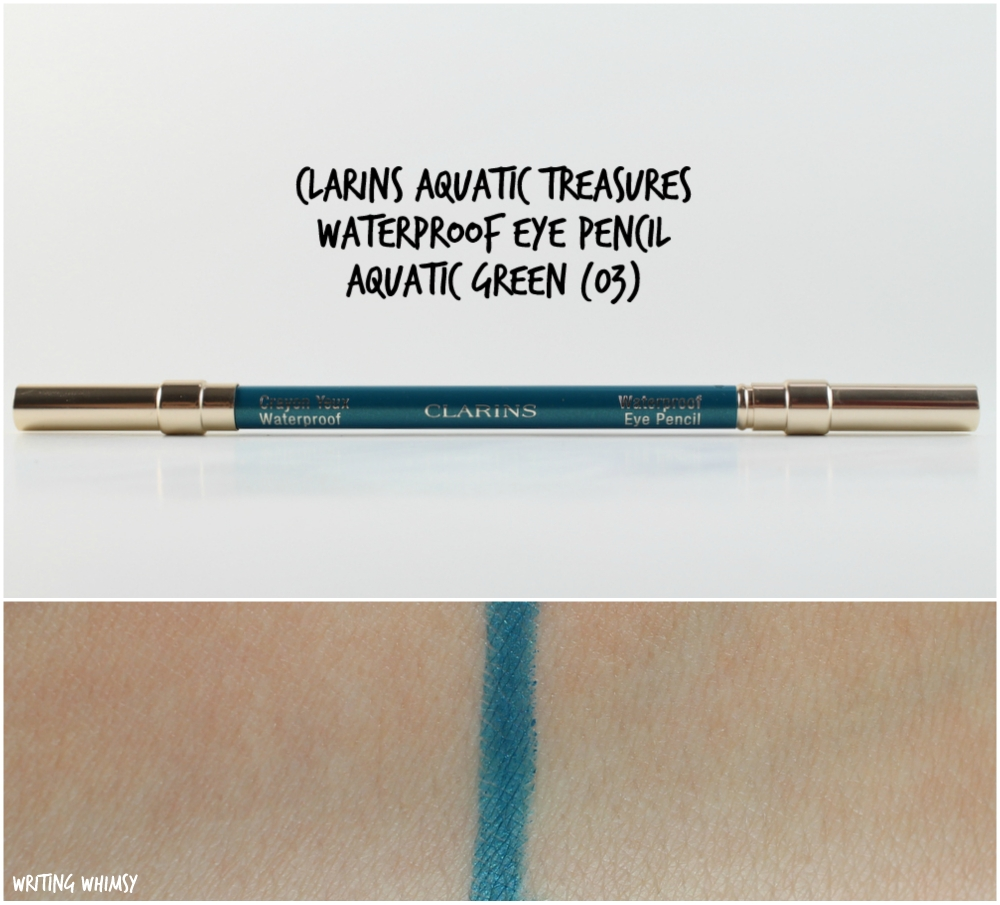 Clarins Aquatic Treasures Waterproof Eye Pencil Aquatic Green 2