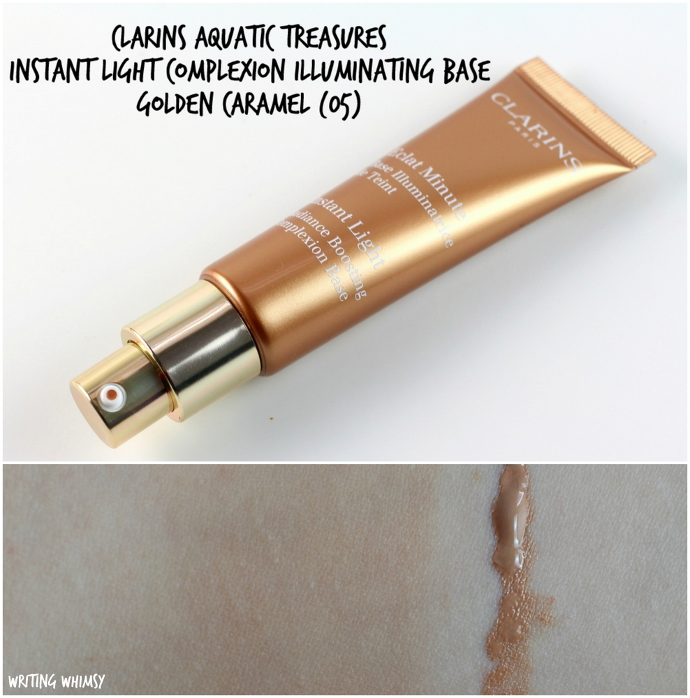 Clarins Instant Light Complexion Illuminating Base Golden Caramel