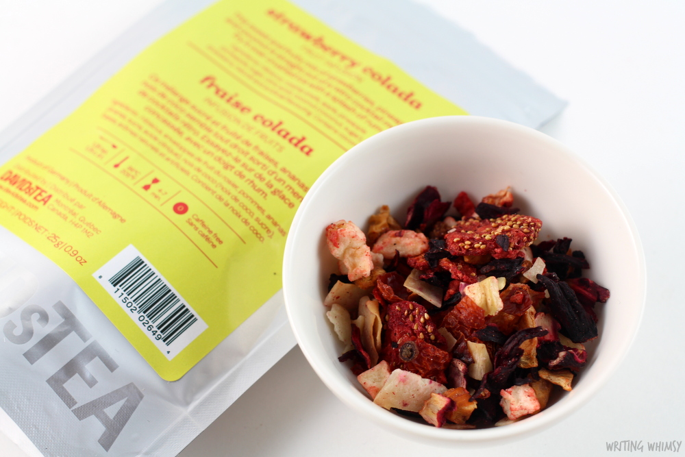 DAVIDsTEA Strawberry Colada