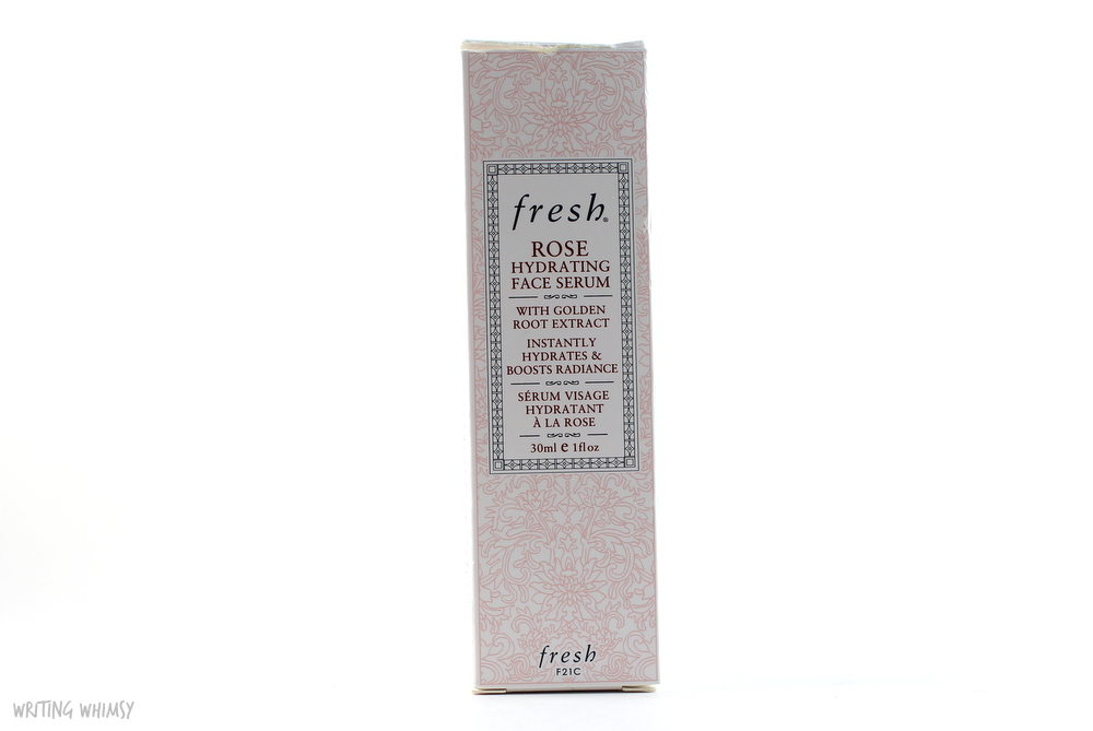 Fresh Rose Hydrating Face Serum 3