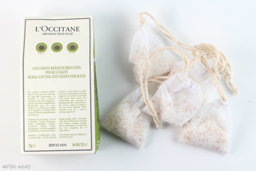 L'Occitane Aromachologie Rebalancing Exfoliating Shower Gel 2