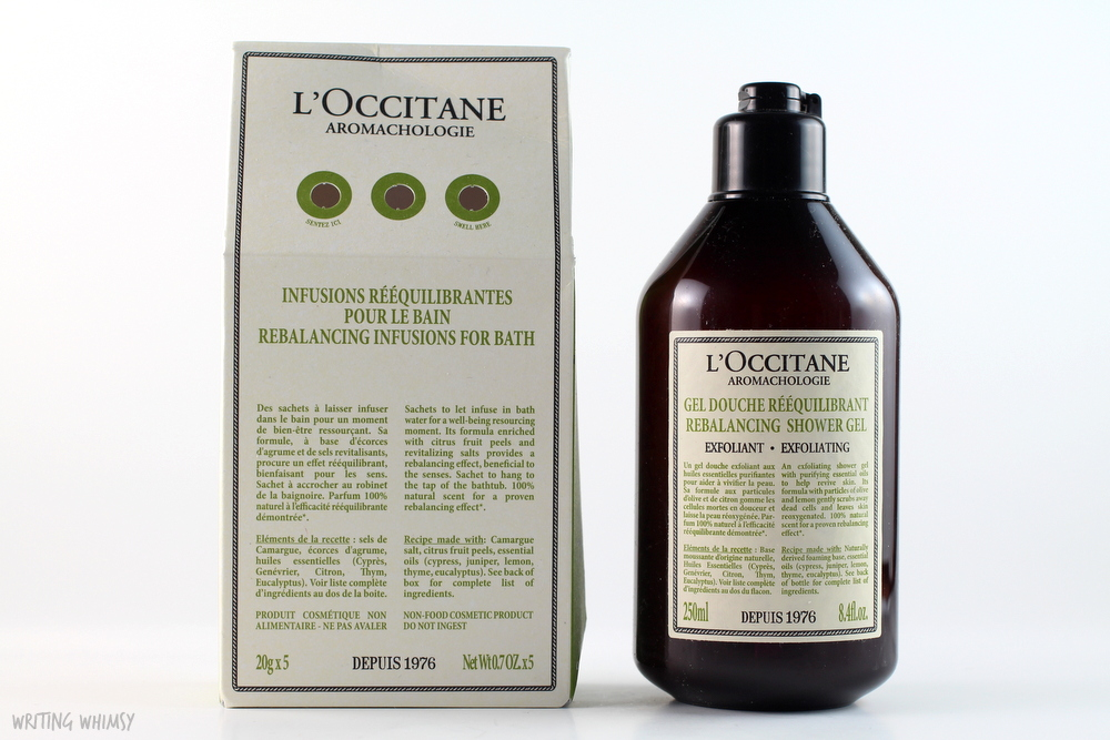 L'Occitane Aromachologie Rebalancing Exfoliating Shower Gel