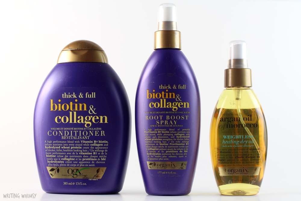 OGX Thick & Full Biotin & Collagen Collection 2