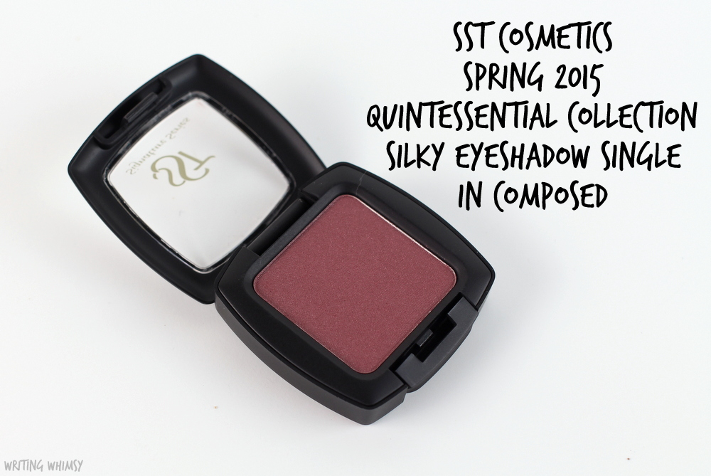 SST Cosmetics Silky Eyeshadow Single in Composed