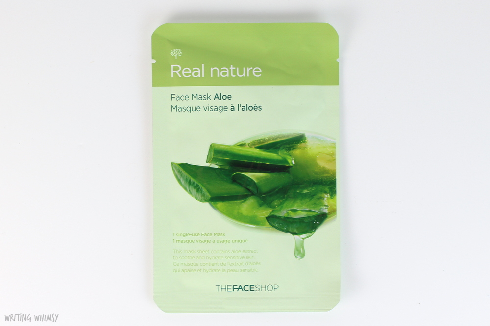 THEFACESHOP Face Mask in Aloe