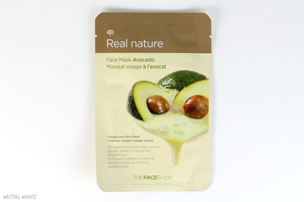 THEFACESHOP Face Mask in Avocado