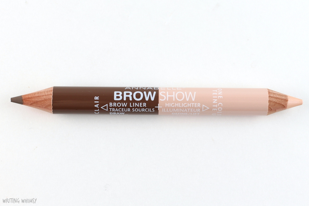 Annabelle Brow Show Light Swatches