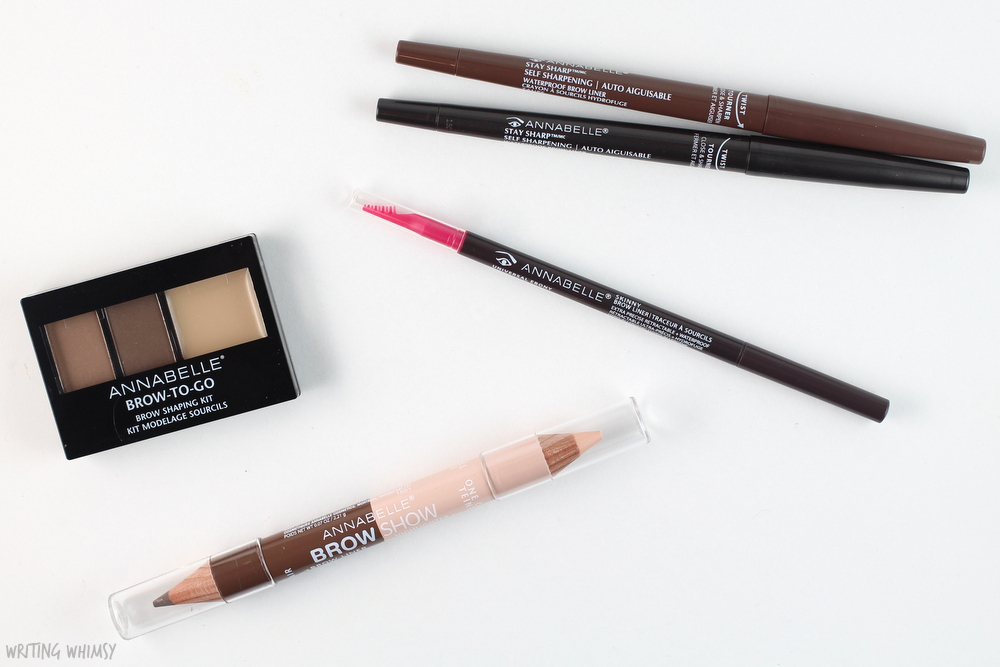 Annabelle Cosmetics Fall 2015 Brows