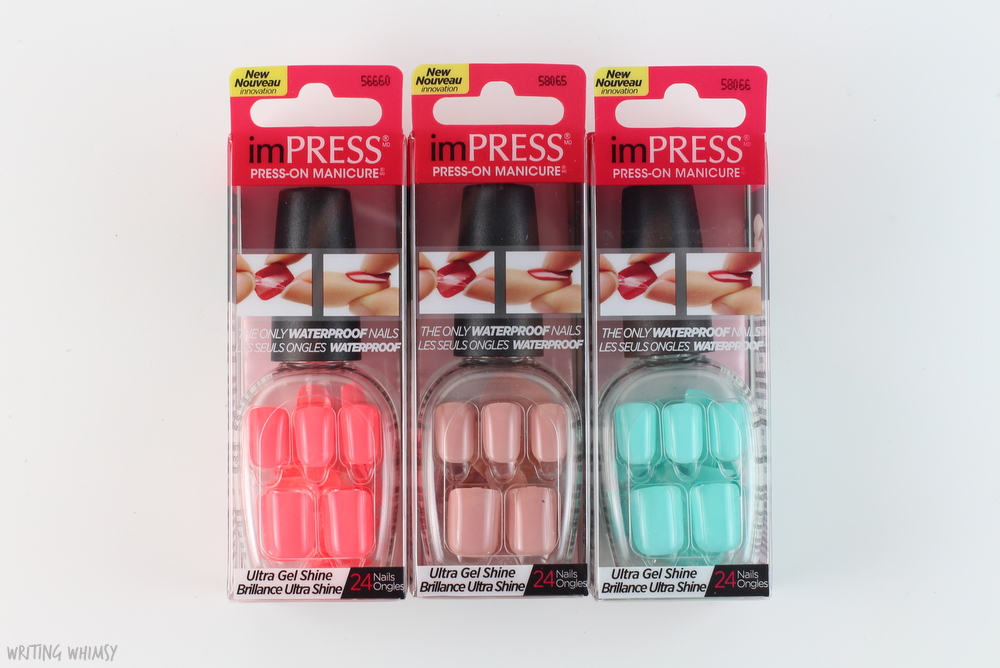 KISS & imPRESS Nails Summer 2015 Releases – WRITING WHIMSY