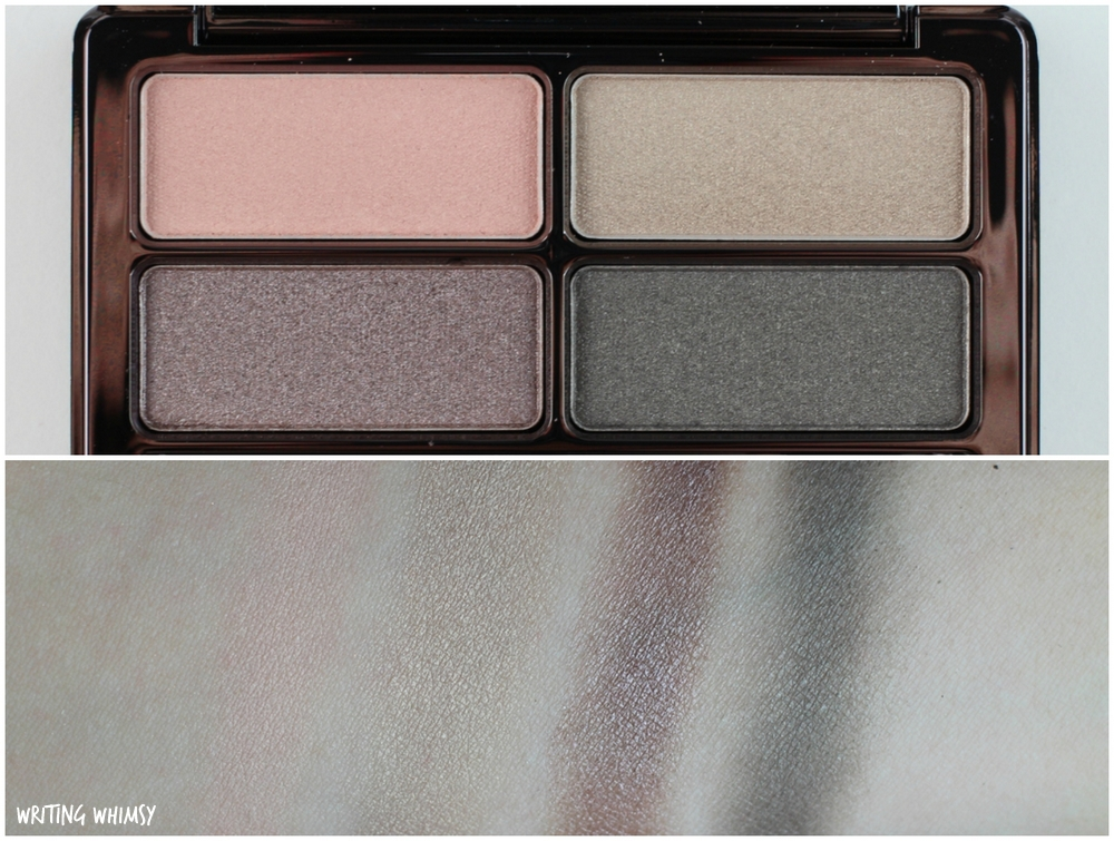Lise Watier EYEvolution Quartet Swatches 3