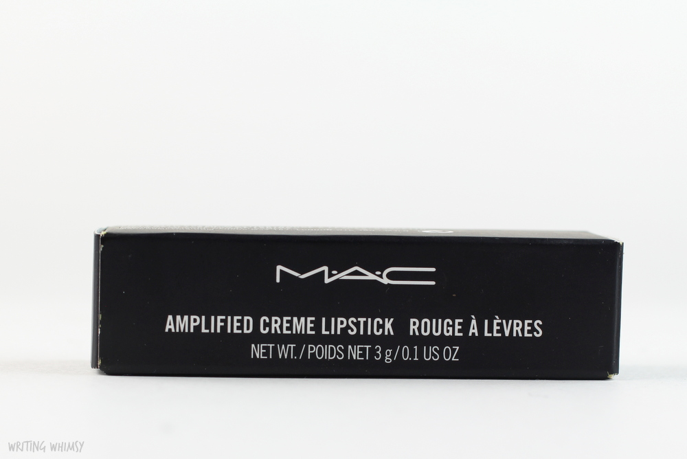 MAC Craving Lipstick Swatches and Review 2