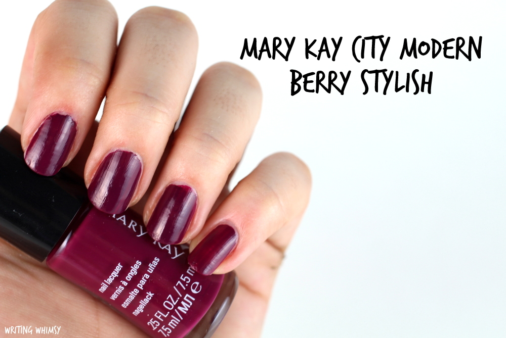 Mary Kay City Modern Berry Stylish Swatch
