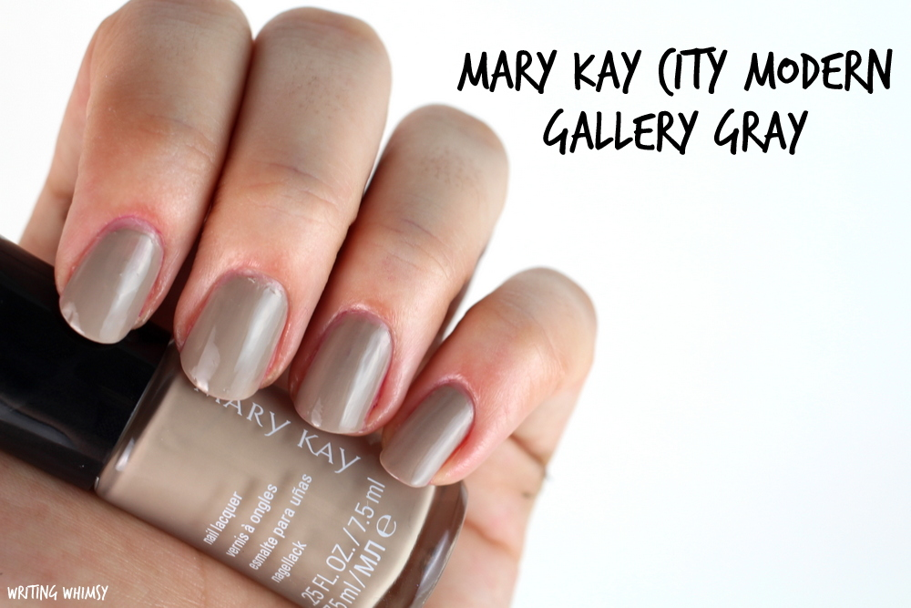 Mary Kay City Modern Gallery Gray Swatch