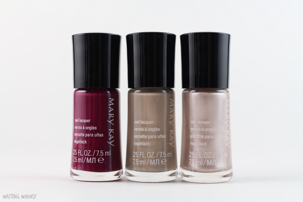 Mary Kay Fall 2015 City Modern Collection Nail Polish Swatches and Review