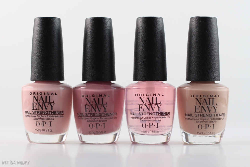 OPI Nail Envy Strength In Color Collection Swatches & Review