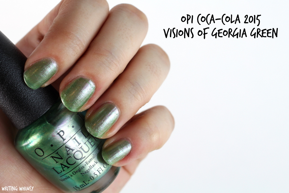 OPI Visions of Georgia Green 2