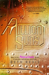 2-A Million Suns by Beth Revis Cover