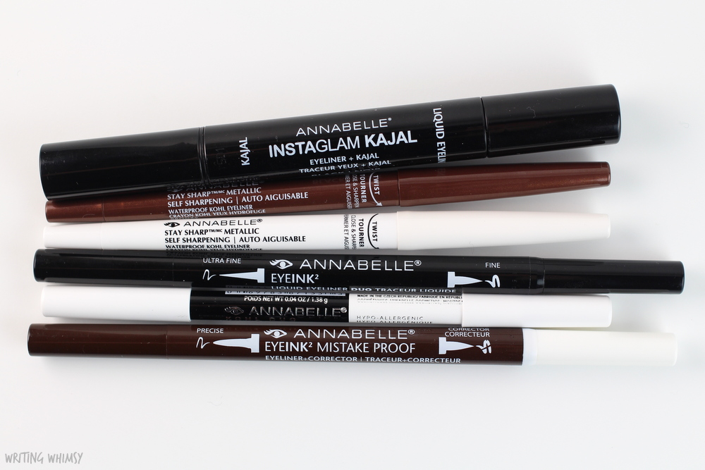 Annabelle Cosmetics Fall 2015 Eyeliners