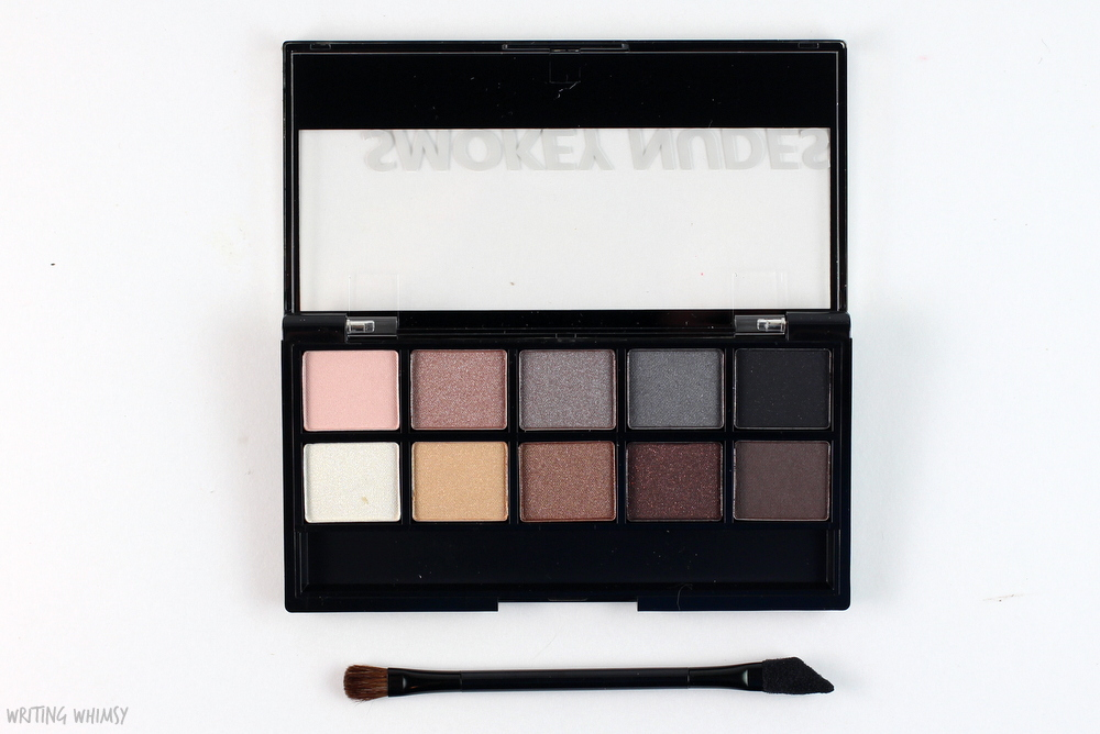 Annabelle Cosmetics Smokey Nudes Eyeshadow Palette Swatches 2