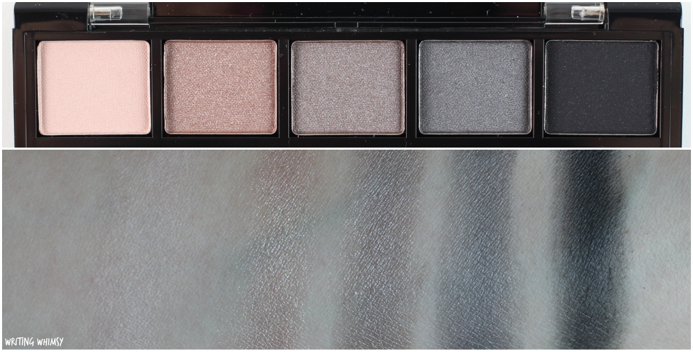 Annabelle Cosmetics Smokey Nudes Eyeshadow Palette Swatches