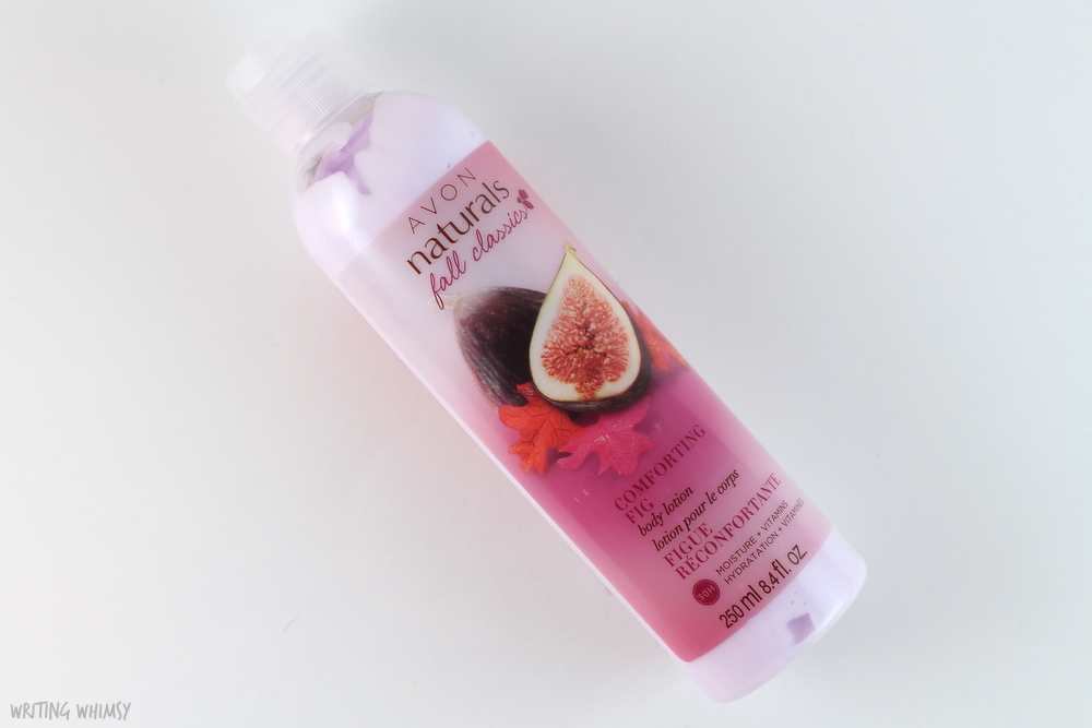 Avon Naturals Comforting Fig Hydrating Shower Gel & Body Lotion 3