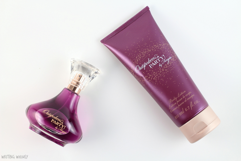 Avon Outspoken Party! by Fergie Eau de Parfum Spray & Body Lotion